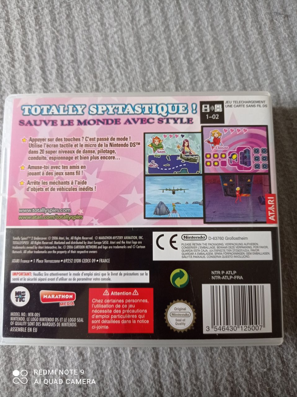 Image article Nintendo - DS - Totally spies 2 - Undercover