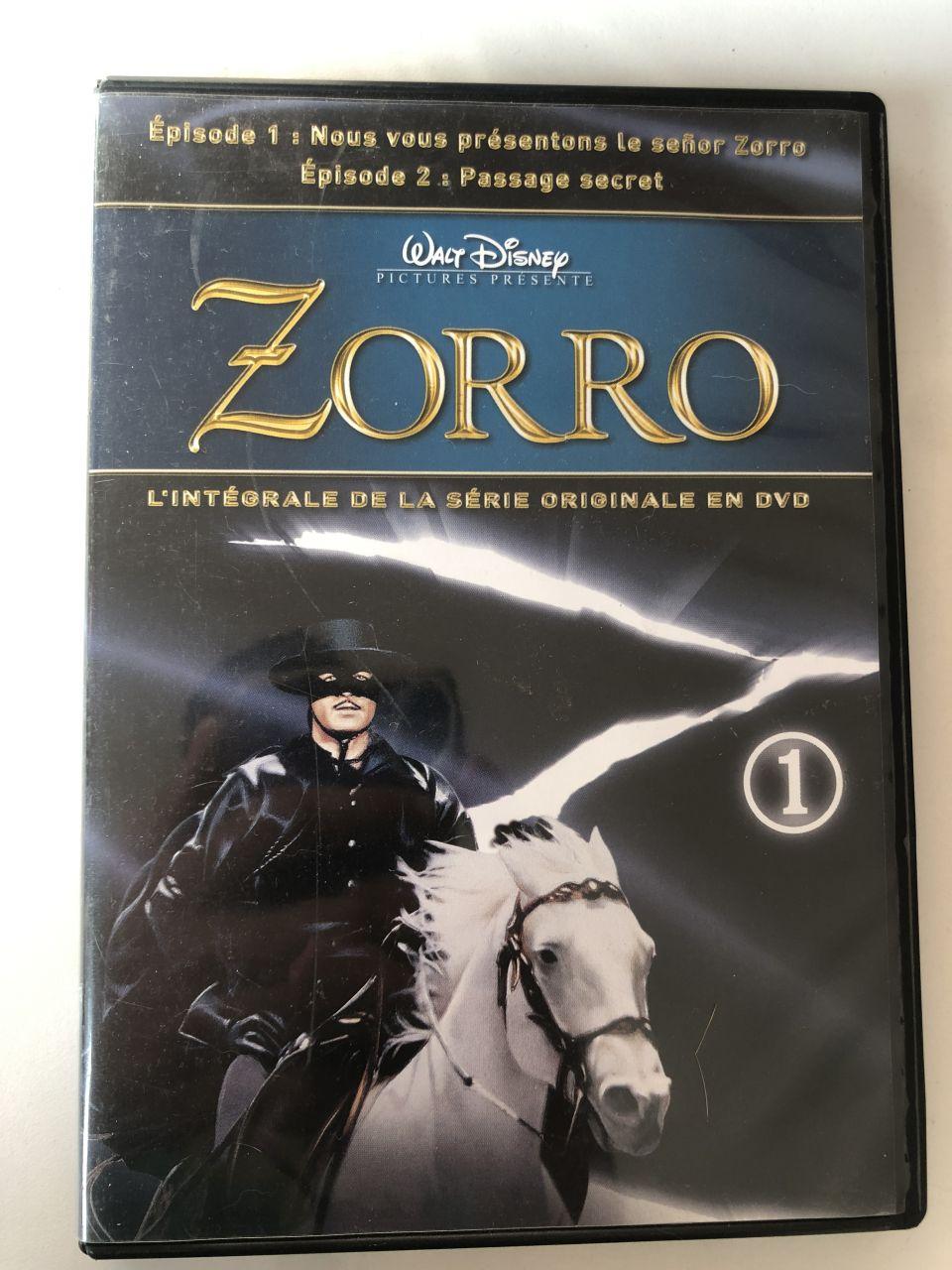 Image article Dvd série Zorro