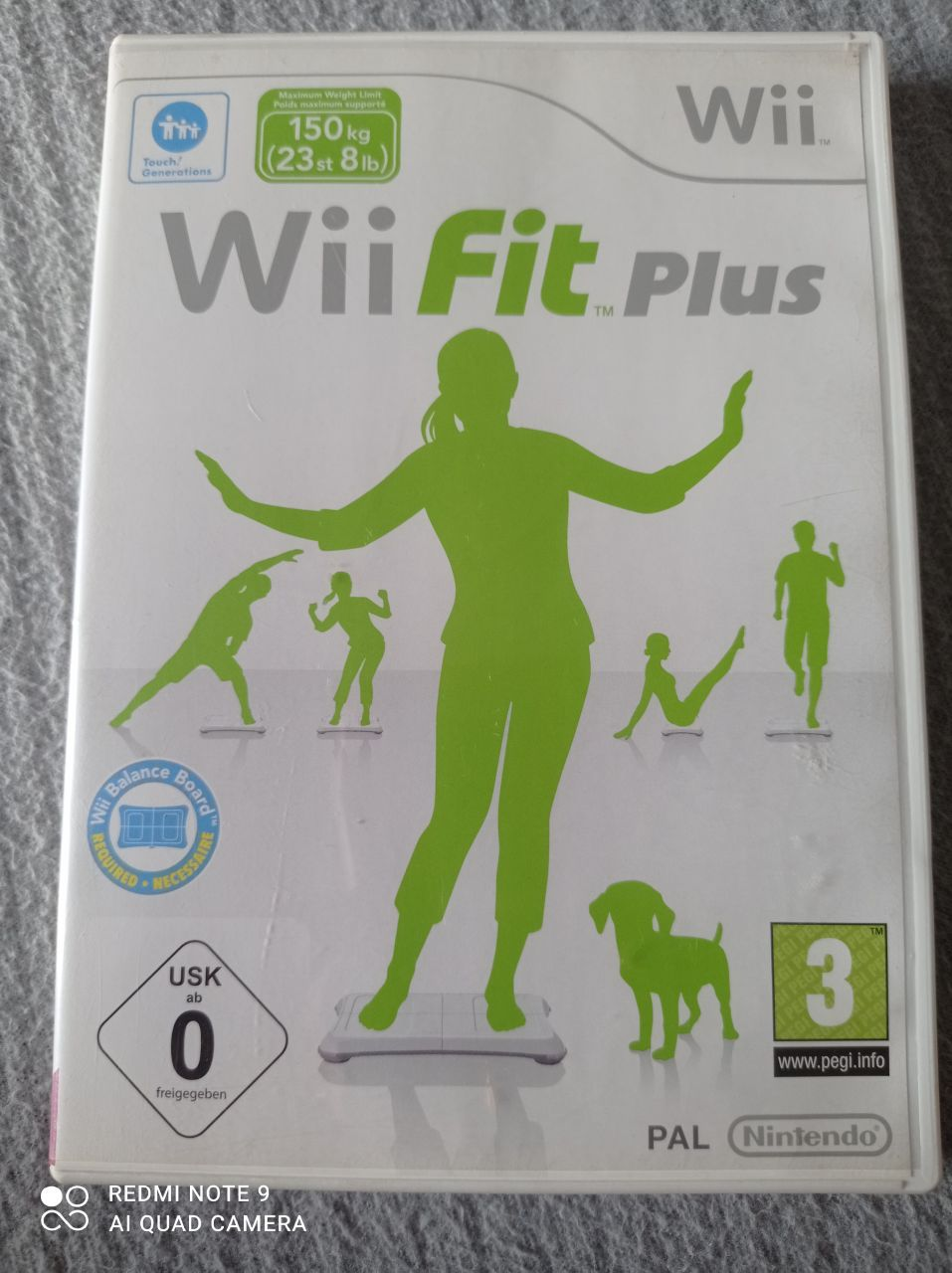 Image article Nintendo - Wii - Balance board + jeu