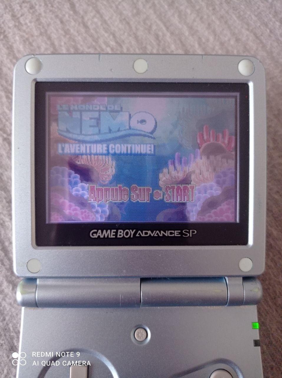Image article Nintendo - Game boy advance -  Le monde de Nemo - L'aventure continue
