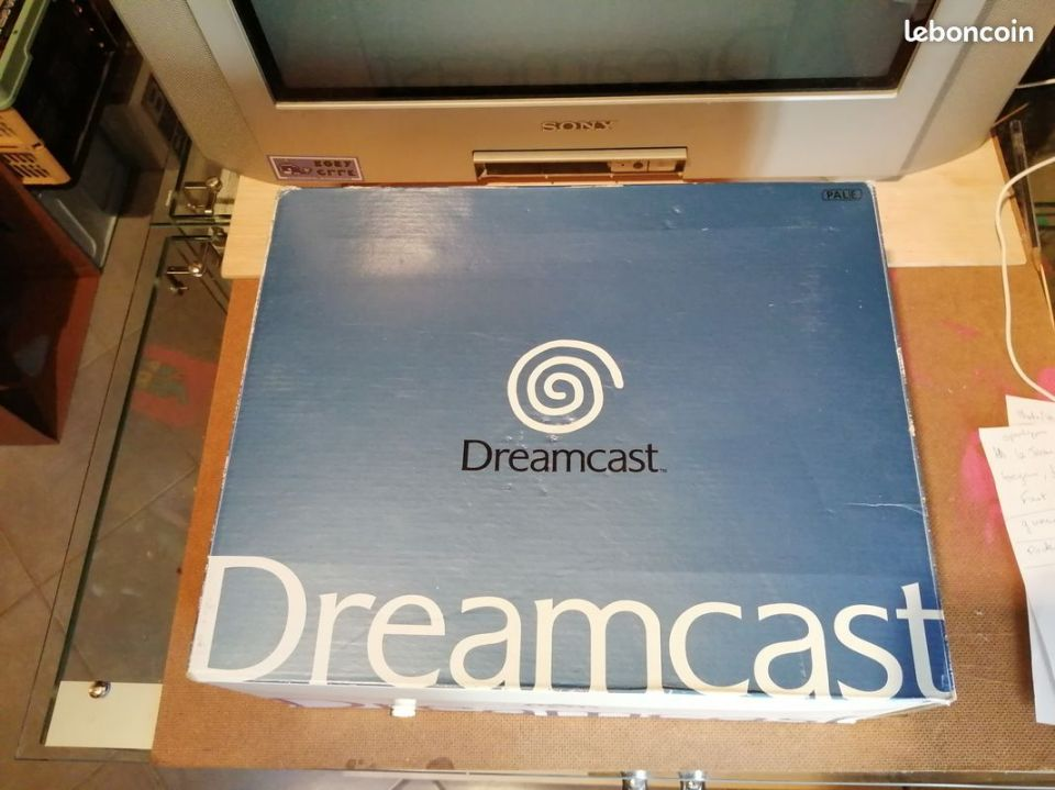 Image article sega dreamcast en boite