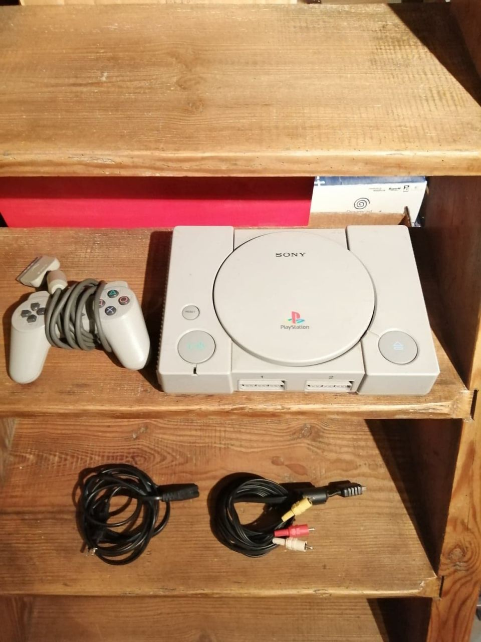 Image article console PS1 pucée