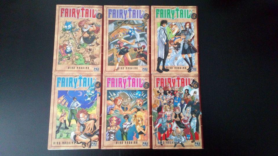 Image article Fairy Tail Tome 1/2/3/4/5/6 / Très bon état