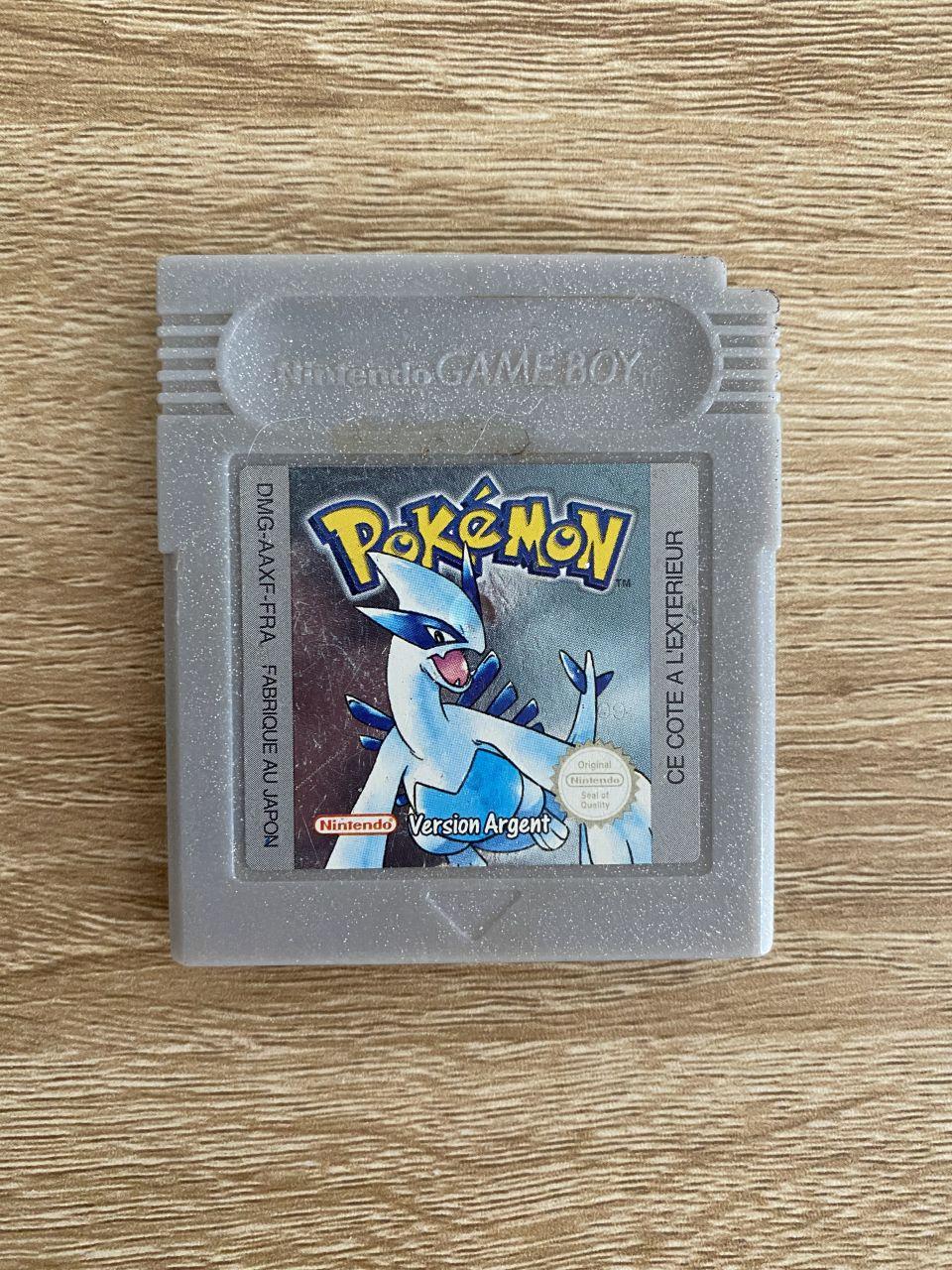Image article Pokémon Version Argent (FR)