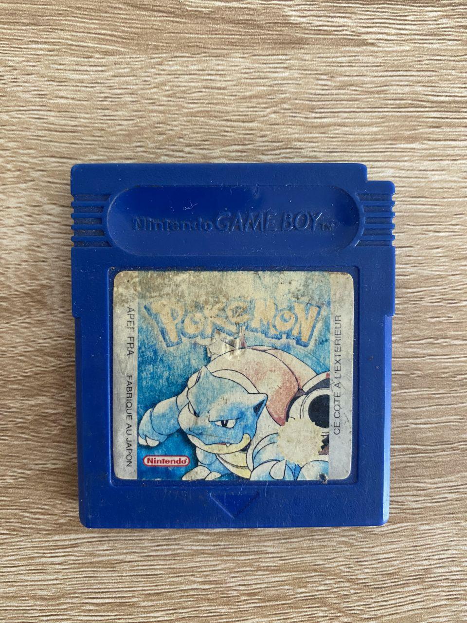 Image article Pokémon Version Bleu (FR)