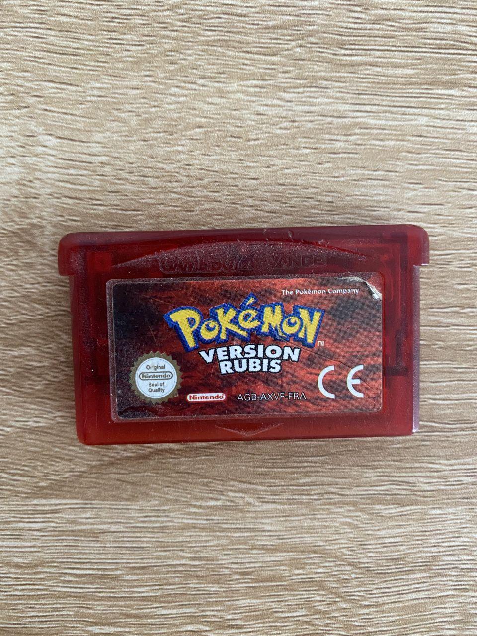 Image article Pokémon Version Rubis