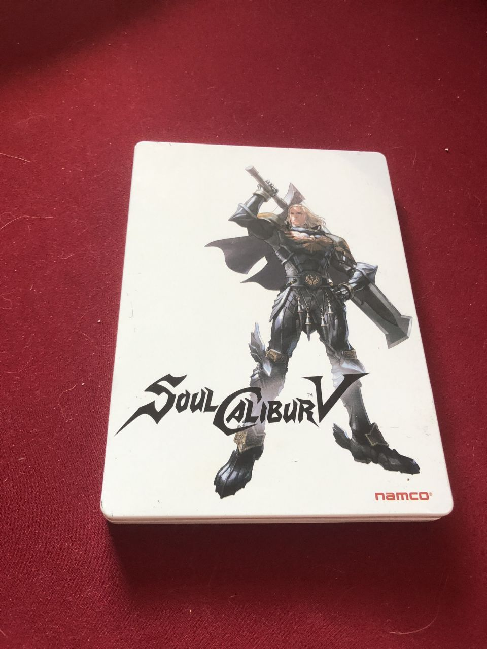 Image article Soul calibur V version Steelbook