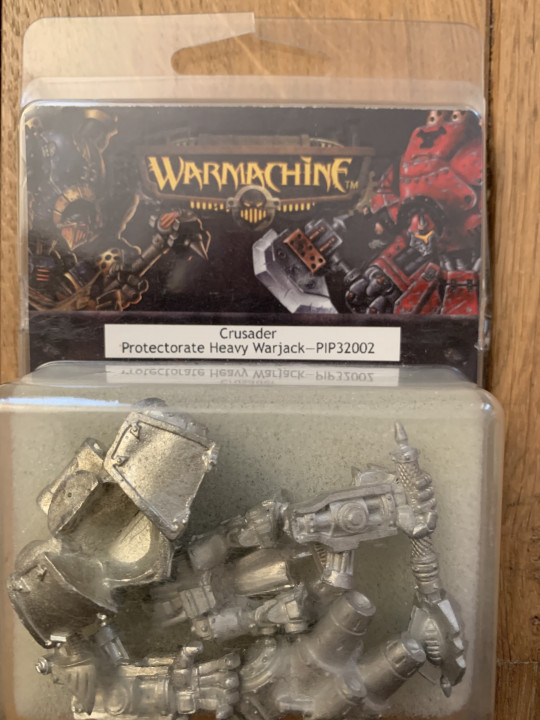 Image article Warmachine : crusader protectorate heavy warjack