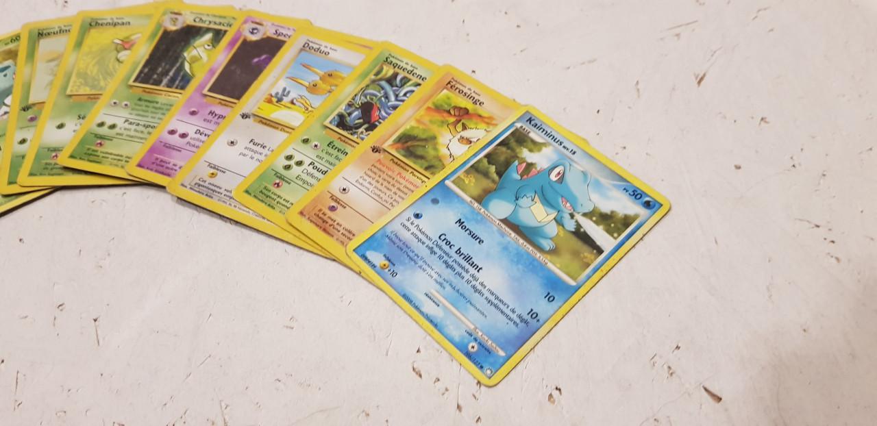 Image article Lot de 10 cartes pokemon