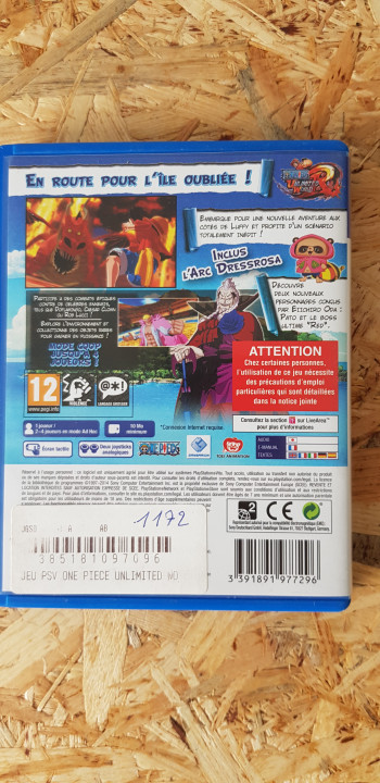 Image article One Piece PS Vita