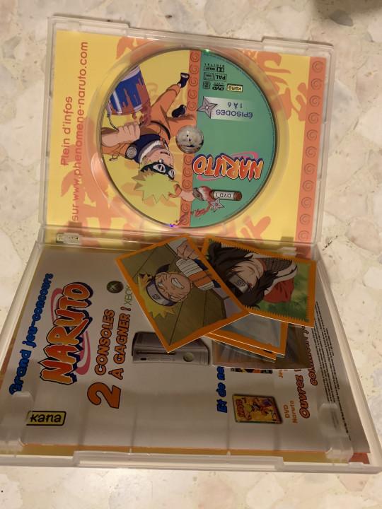 Image article Naruto, dvd , 6 premier épisode
