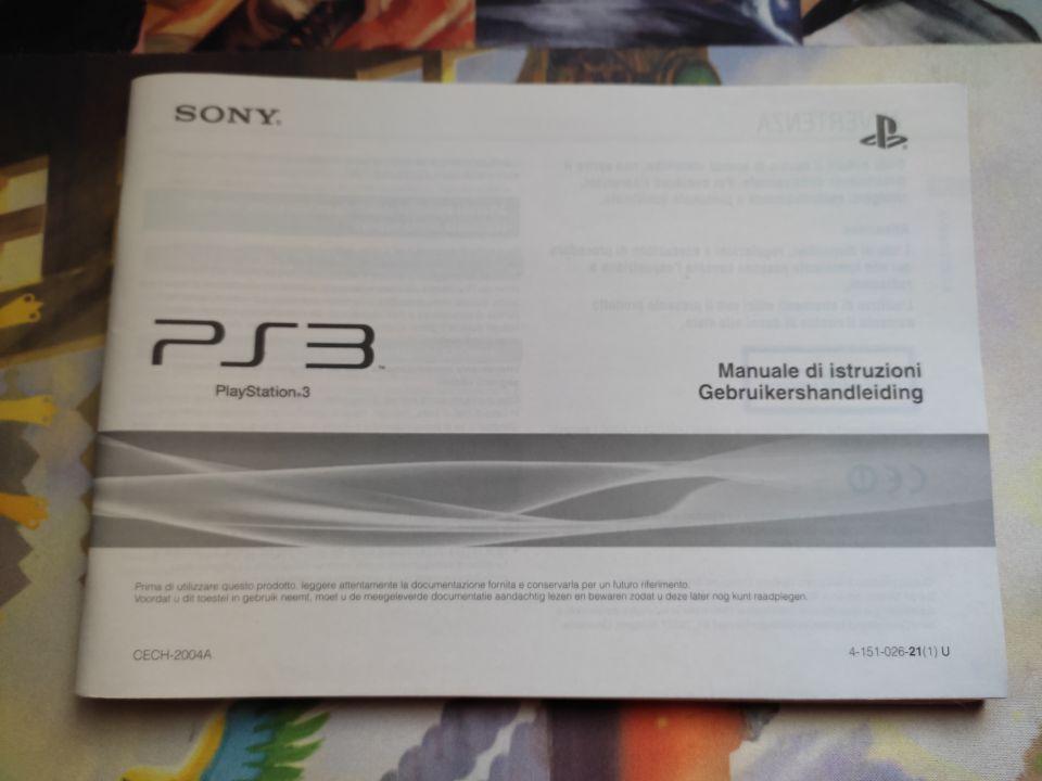 Image article PS3 Sony Manuel d'instructions Italien / Néerlandais
