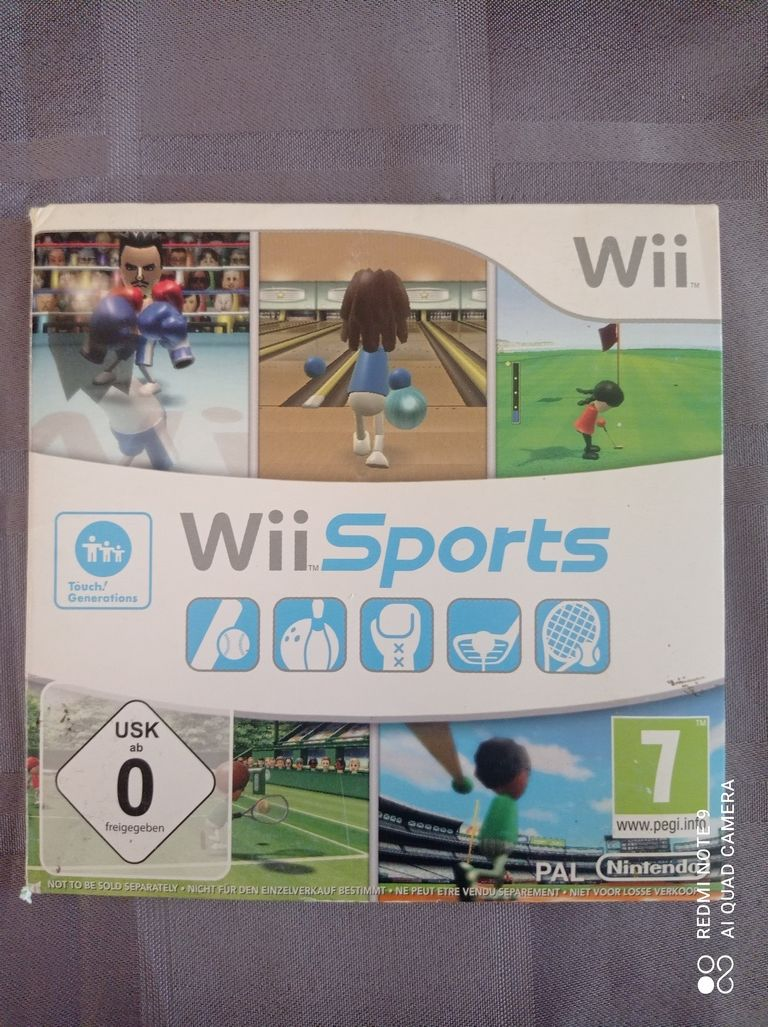 Image article Nintendo - Wii - Wii sports
