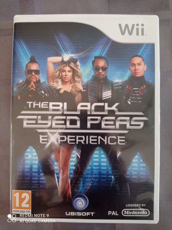 Image article Nintendo - Wii - The Black eyed peas experience