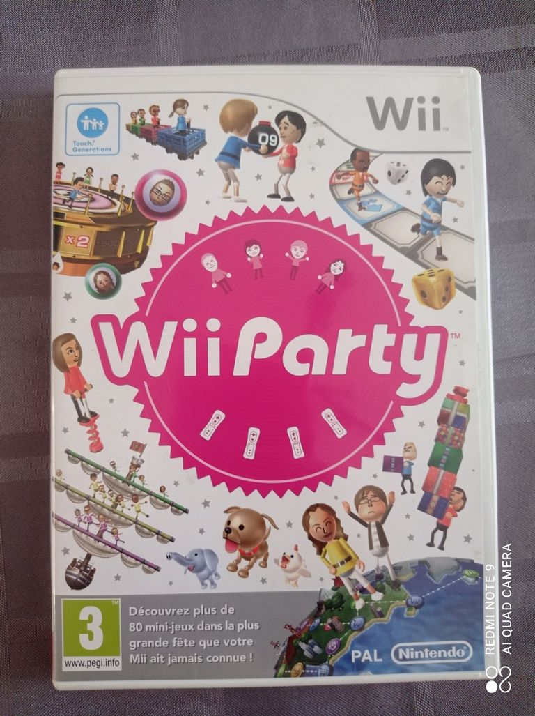 Image article Nintendo - Wii - Wii party