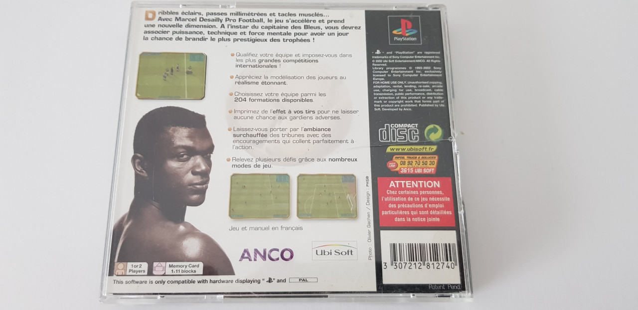 Image article Marcel desailly ps1