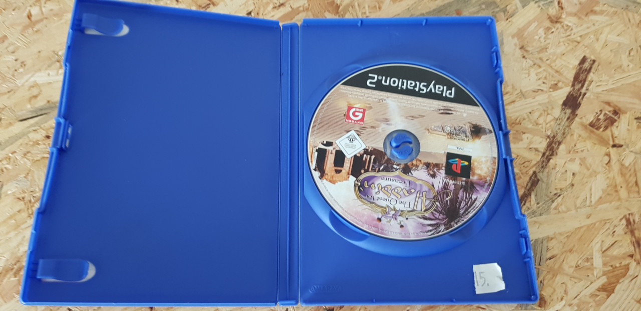 Image article The quest for aladdin treasor's ps2