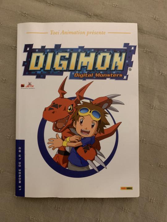 Image article Manga digimon