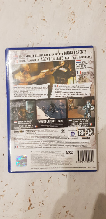 Image article Splinter Cell Double agent ps2