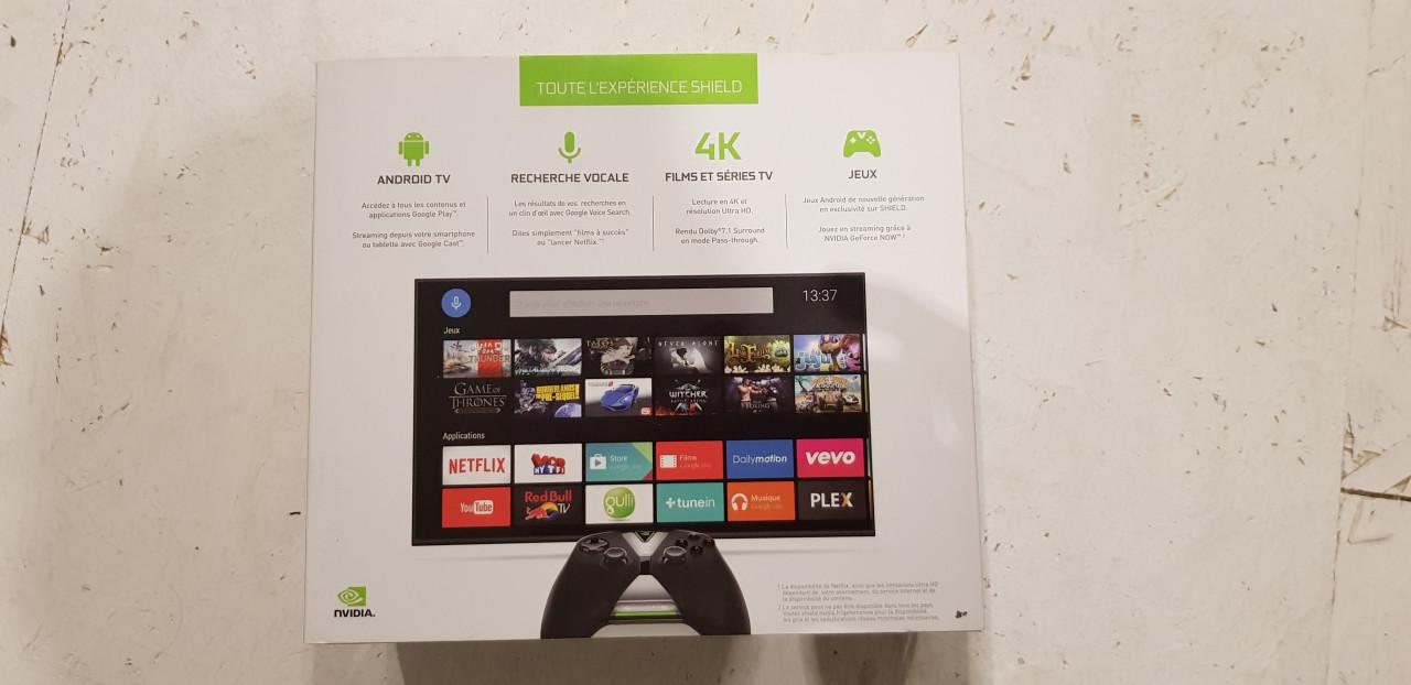 Image article Boite vide NVIDIA Shield TV
