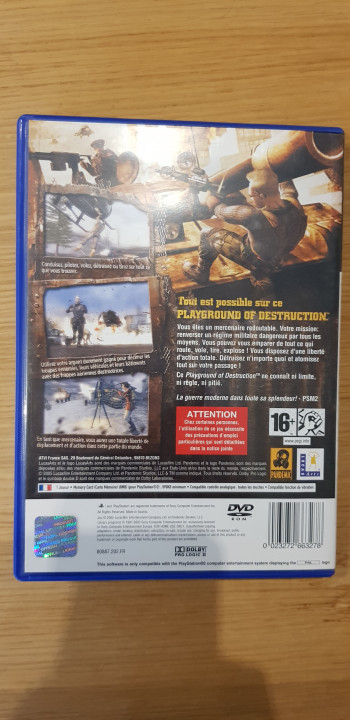 Image article Mercenaries ps2