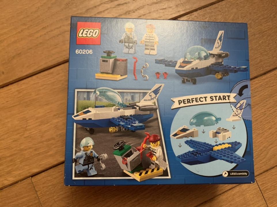 Image article Lego city avion