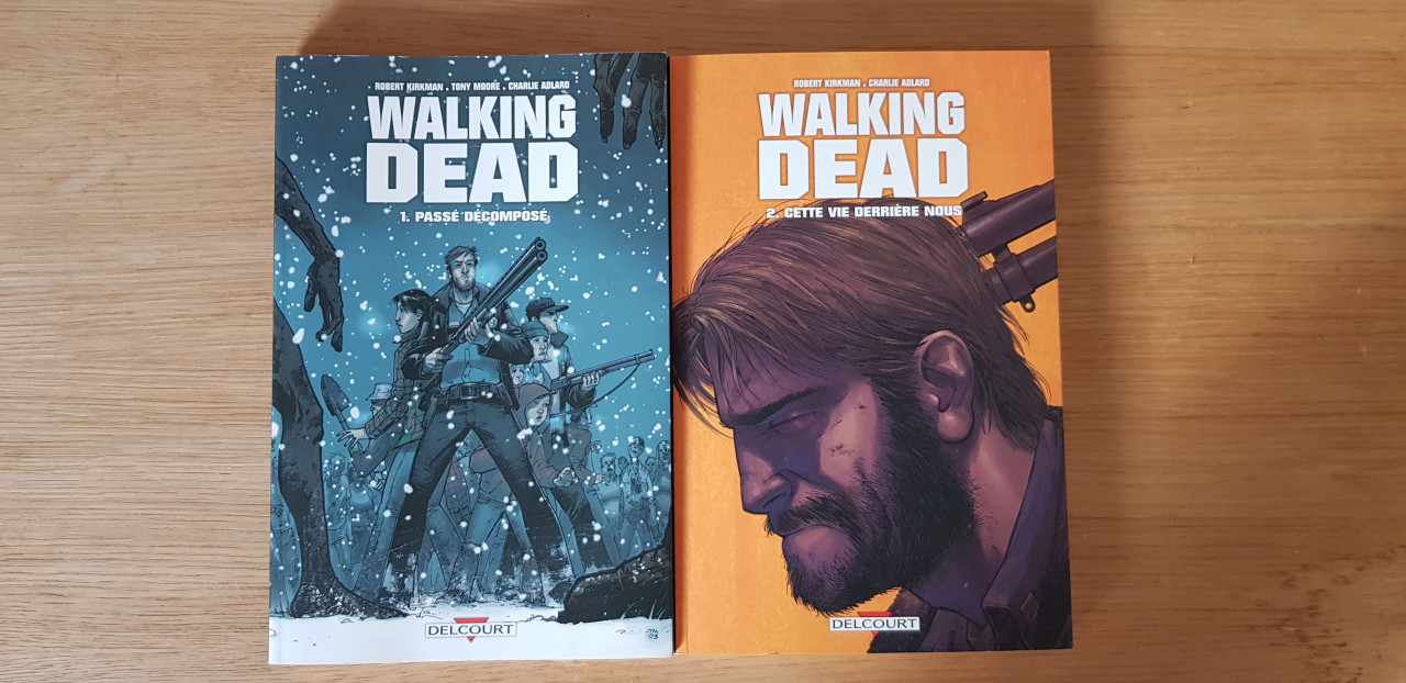 Image article The walking Dead tome 1 et 2