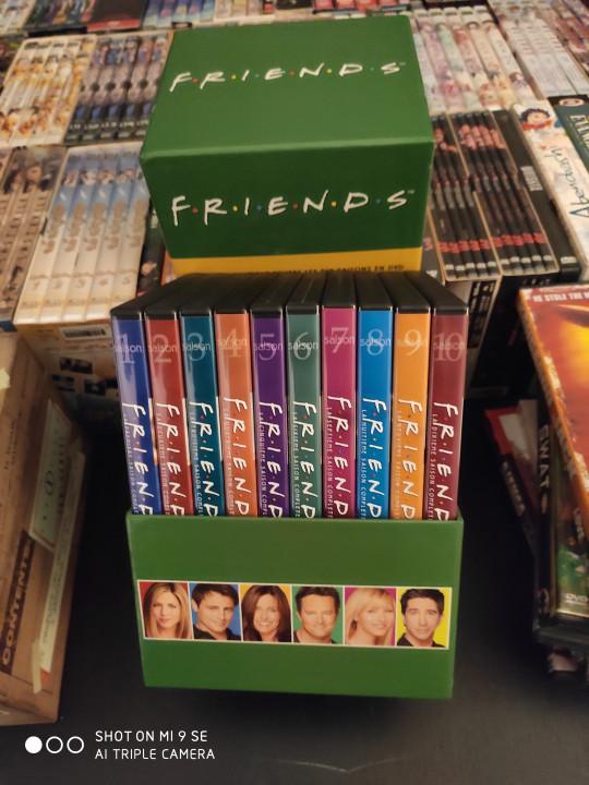 Image article Coffrert DVD Intégrale de Friends