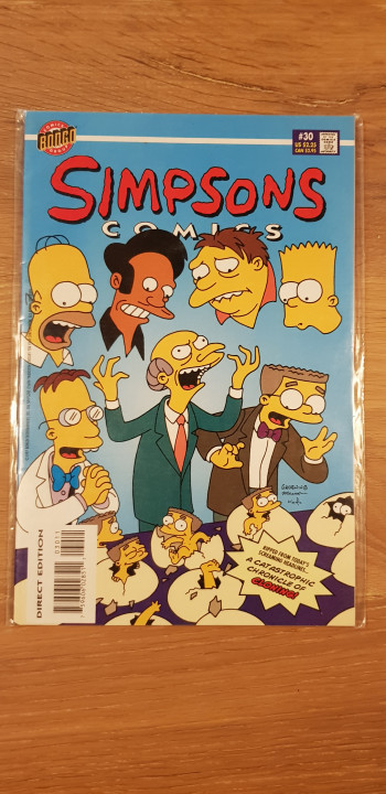 Image article The simpsons comics #30 1997