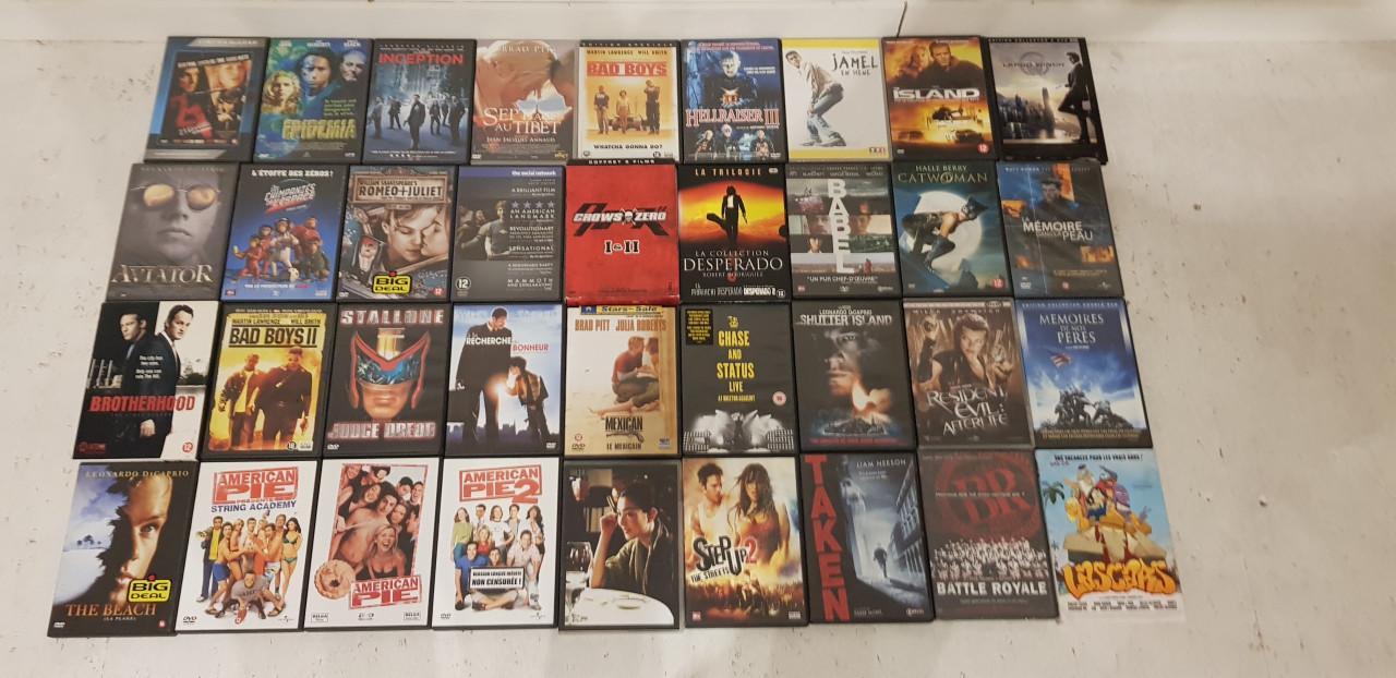 Image article Lot de 36 DVDs en tout genre