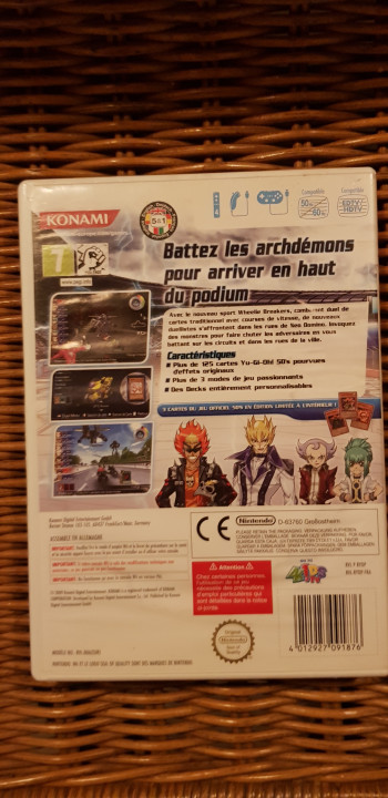 Image article Yugiho 5ds wii